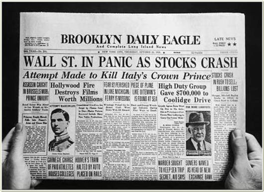 the stock market crash of 1929 essay